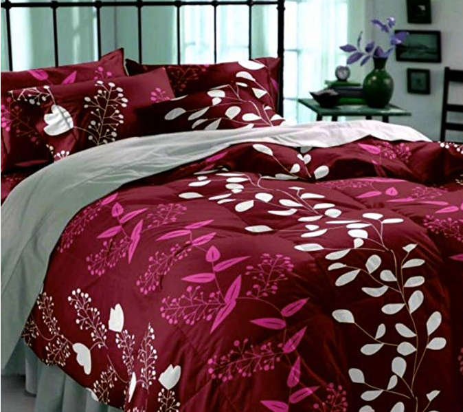 DECO READY Glace Cotton Double Bed