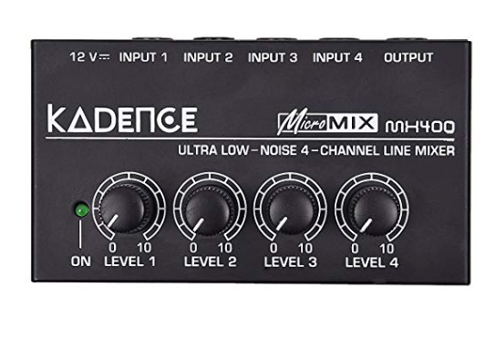 Kadence MX400 Ultra low noise 4-channel line mixer