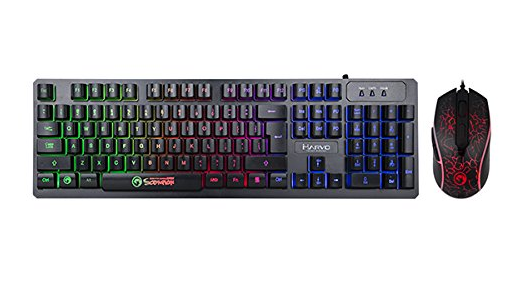 Marvo KM408 Gaming Keyboard and Mouse Combo