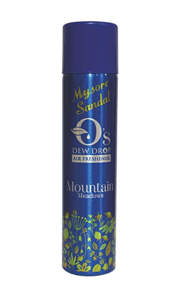 Mysore Sandal Mountain Meadows O's Dew Drop Air Freshener 300ml