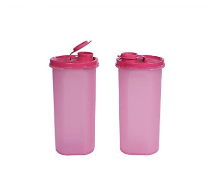 Signoraware Kids Fridge Bottle Set, 650ml, Set of 2, Pink