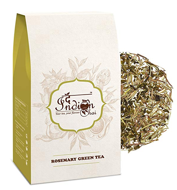 The Indian Chai - Rosemary Green Tea 100g