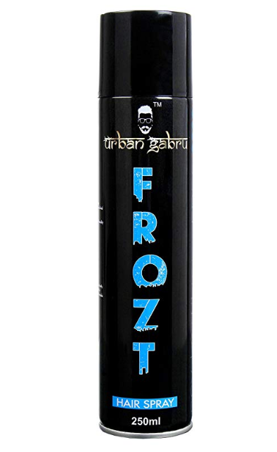 UrbanGabru Frozt Extreme Hold Hair Spray For Women And Men, 250 ml