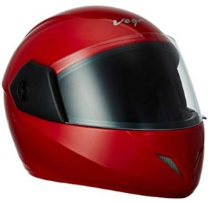 Vega BUD-R Full Face Helmet (Red, XS)