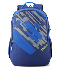American Tourister 29 Ltrs Blue Casual Backpack