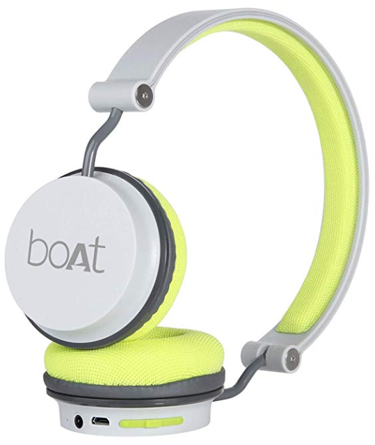 boAt Super Bass Rockerz 400 Bluetooth On-Ear Headphones with Mic