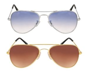 Blue Bell Aviator Combo Sunglasses For Man And Women