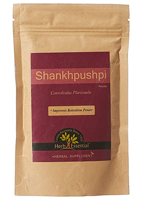 Herb Essential Pure Shankhapushpi Powder - 100 g