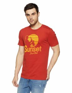 Jack & Jones Men's T-Shirt starting at Rs 179