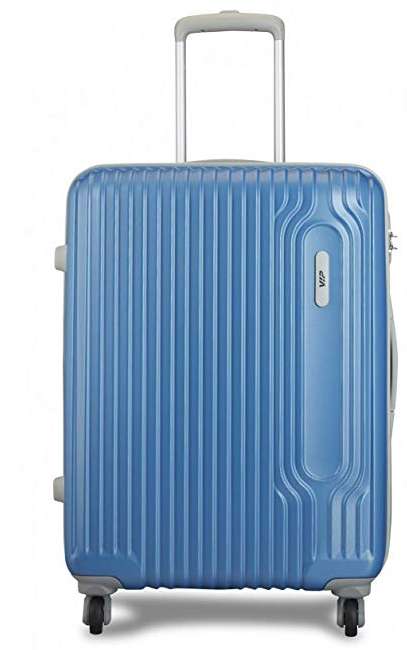 VIP Track Polycarbonate 56 Cms Artic Blue Hardsided Cabin Luggage