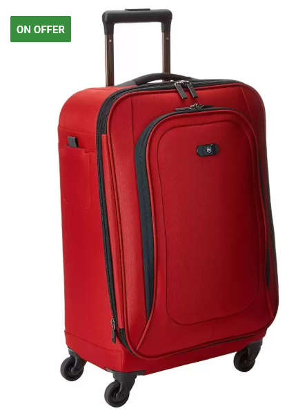 Victorinox  U.S. Carry-On Expandable Cabin Luggage - 22 inch  (Red)