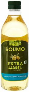 Amazon Brand - Solimo Extra Light Olive Oil, 1L
