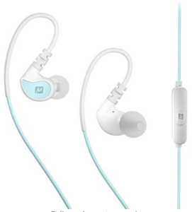 MEE Audio EP-X1-MTWT in-Ear Sports Headphones (Mint and White)