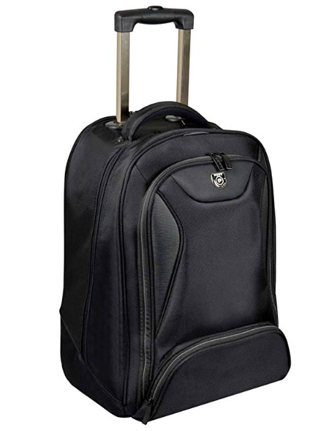 Port Designs 170227 Manhattan 15.6-inch Trolley Bag (Black)