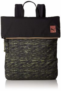 Puma 12 Ltrs Puma Black Avocado Velvet Rope Laptop Backpack (7474804)