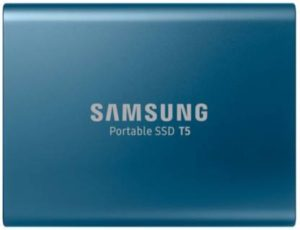 Samsung T5 250 GB External Solid State Drive  (Blue)