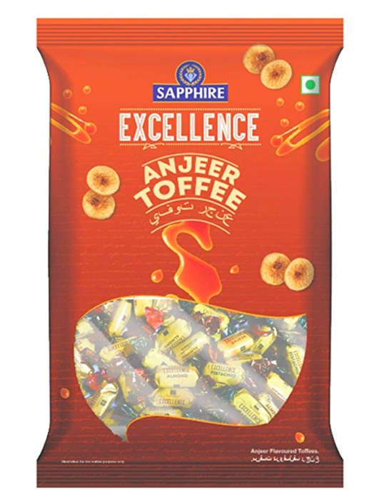Sapphire Excellence Anjeer Toffee, 700 g
