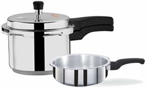 Surya Accent 5 LTR Pressure Cooker with 3 LTR Pressure Pan