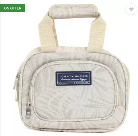 Tommy Hilfiger Cosmetic Pouch  (Beige)