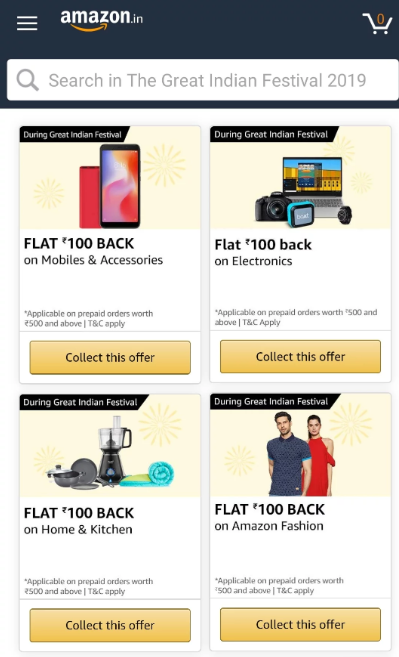 amazon festival coupons
