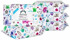 Amazon Brand - Mama Bear Cleansing Baby Wet Wipes - 72 wipespack (Pack of 5) Rs 239 amazon dealnloot
