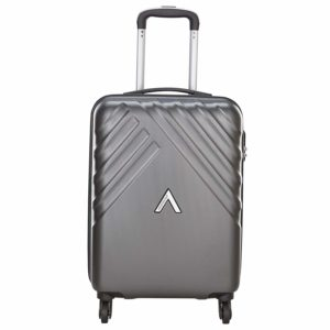 Amazon- Buy Aristocrat Polycarbonate 55 cms Grey Hardsided Cabin Luggage