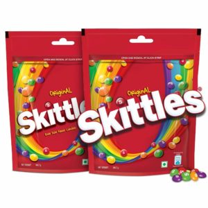 Amazon- Buy Skittles Bite-Size Fruit Candies Pouch