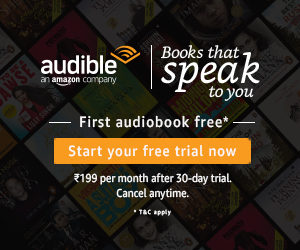 amazon audible free trial dealnloot