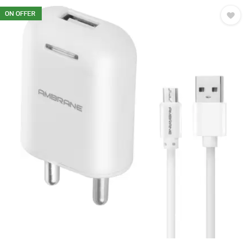 Ambrane AWC-38 With 1 m Sync & Charge USB Cable