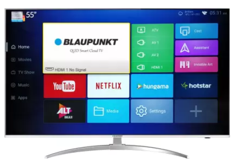 Blaupunkt 140cm (55 inch) Ultra HD (4K) QLED Smart TV