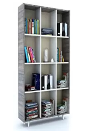 Forzza Yara Engineered Wood Open Book Shelf