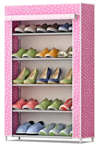 FurnCentral Fabric Shoe Stand