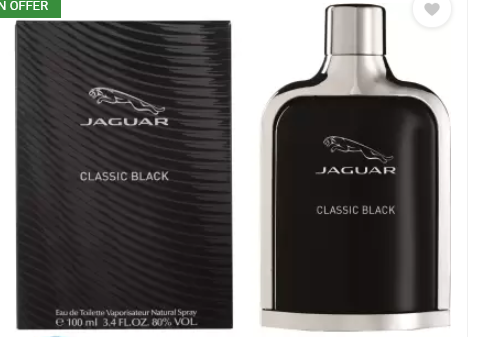 Jaguar Classic Black Eau de Toilette - 100 ml  (For Men)