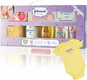 Johnson s Baby Care Collection Baby Gift Rs 330 amazon dealnloot