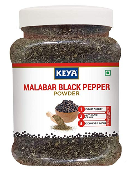 Keya Malabar Black Pepper Powder, 325g