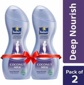 Parachute Advansed Body Lotion Deep Nourish, 250 ml (Pack of 2) at Rs 180 only amazon