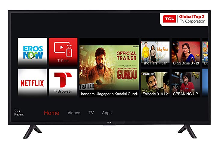 TCL 100.3 cm (40 Inches) Full HD LED Smart TV 40S62FS
