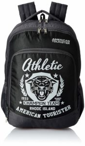 Amazon- Buy American Tourister 27 Ltrs Black Casual Backpack