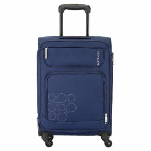 Amazon- Buy Kamiliant by American Tourister Magnus Polyester 56 cms Navy Blue Softsided Cabin Luggage