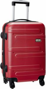 Amazon- Buy Princeware Melbourne DLX ABS 58 cms Red Hardsided Cabin Luggage