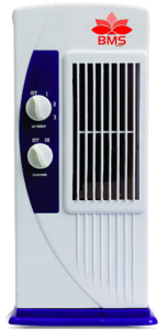 BMS Lifestyle TF-104 Portable Mini Tower Fan with 90 Degree Rotating & Revolving Base