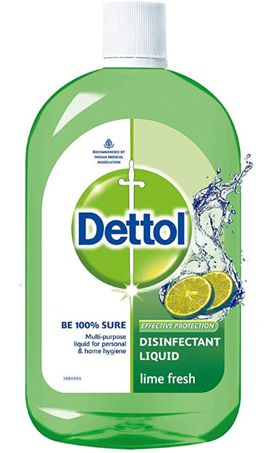 Dettol Disinfectant Cleaner for Home, Lime Fresh 1L