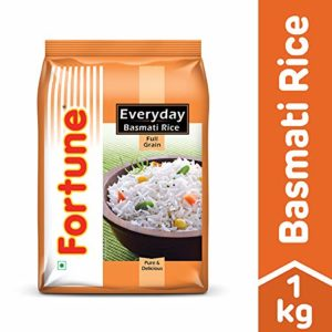 Fortune Everyday Basmati Rice 1kg Rs 83 amazon dealnloot