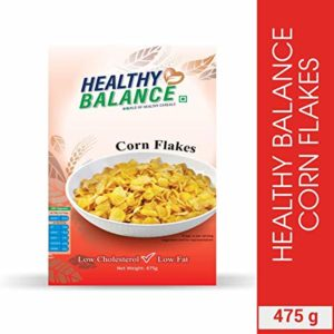Healthy Balance Corn Flakes 475gm Rs 81 amazon dealnloot