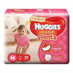 Huggies Ultra Soft Pants Diapers for Girls Rs 299 amazon dealnloot