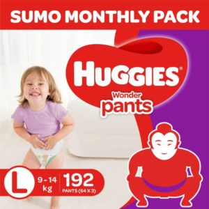 Huggies wonder sumo pack