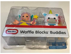 Little Tikes Waffle Blocks Double Figure Pack- Fairy, Unicorn