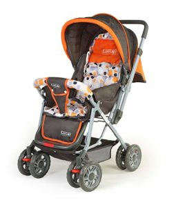 LuvLap Sunshine Stroller Pram with Mosquito net Rs 2519 amazon dealnloot