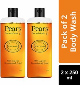Pears Pure and Gentle Body Wash 250 Rs 130 amazon dealnloot