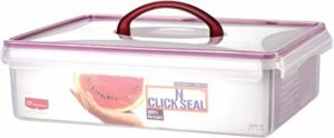 Princeware Click N Seal Container with Handle Rs 235 amazon dealnloot